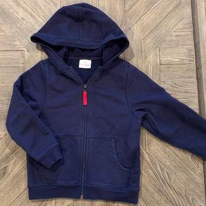 Hanna Anderson ZIP up hoodie - Navy Size 6 / 7